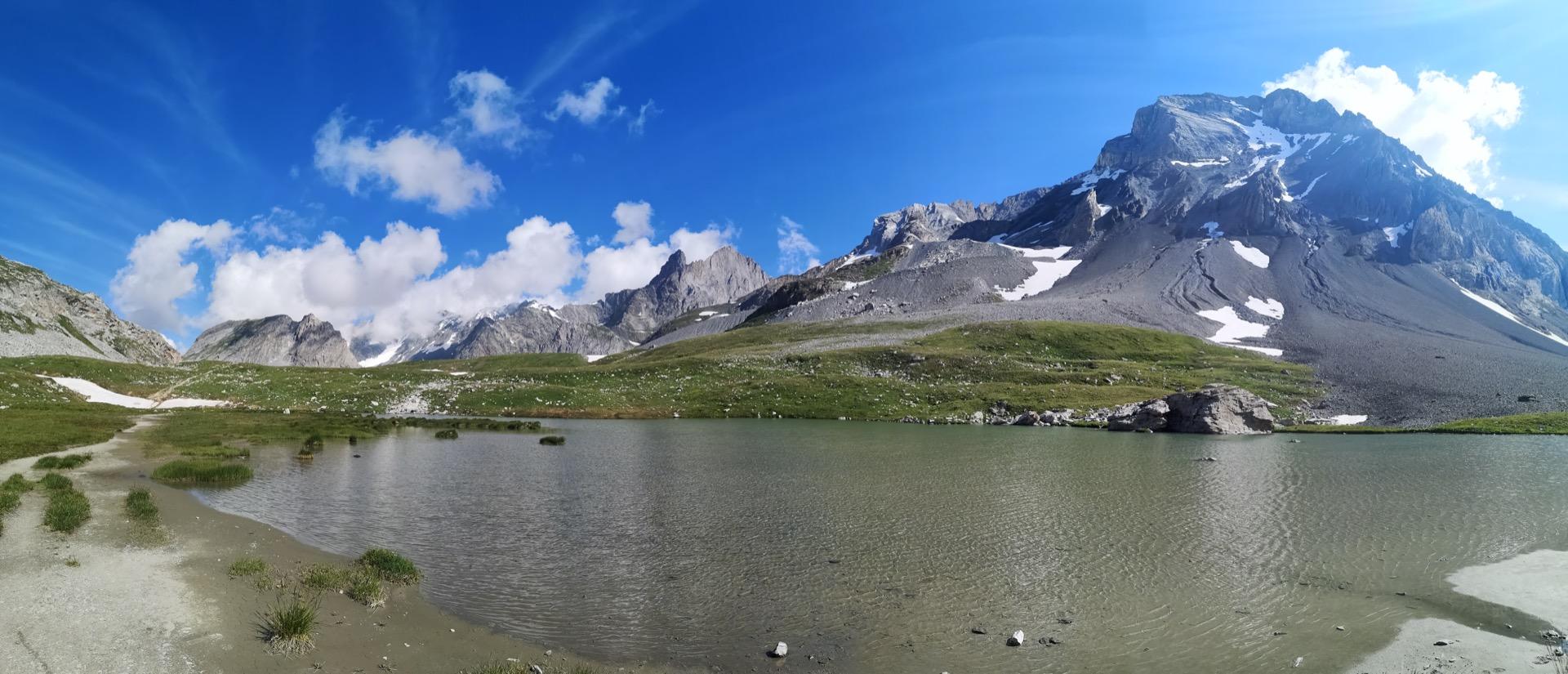 Le Lac Rond, non loin du Col de la Vanoise