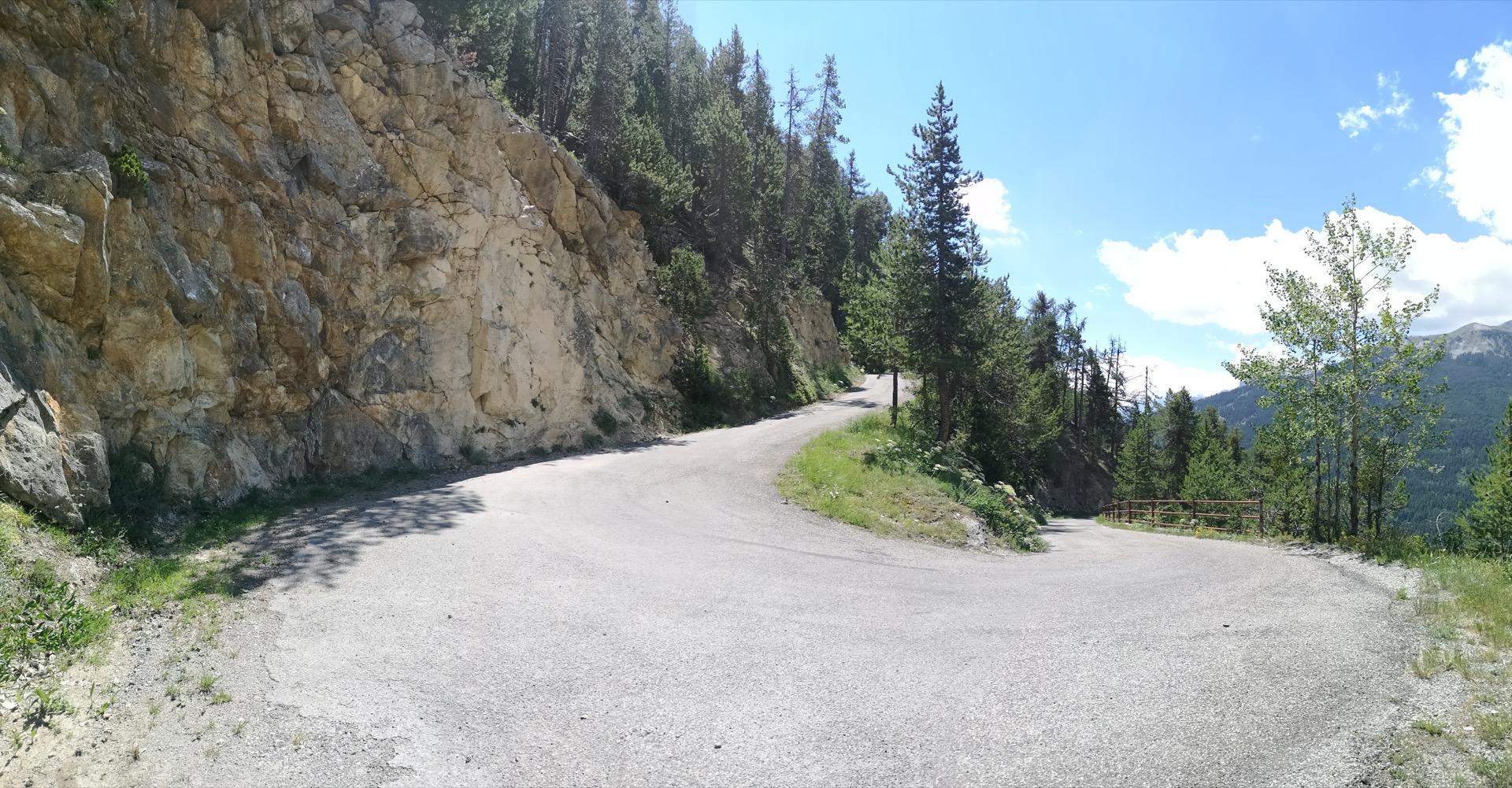 La dernière descente sur Briançon.. Passionnante comme tout!