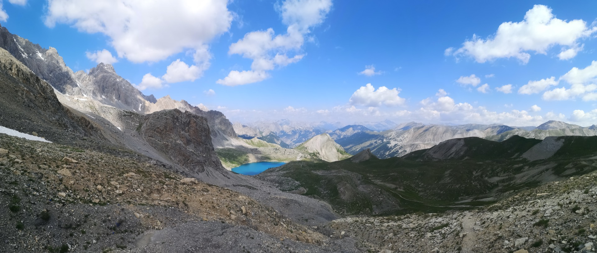 Splendide vue depuis le Col Girardin