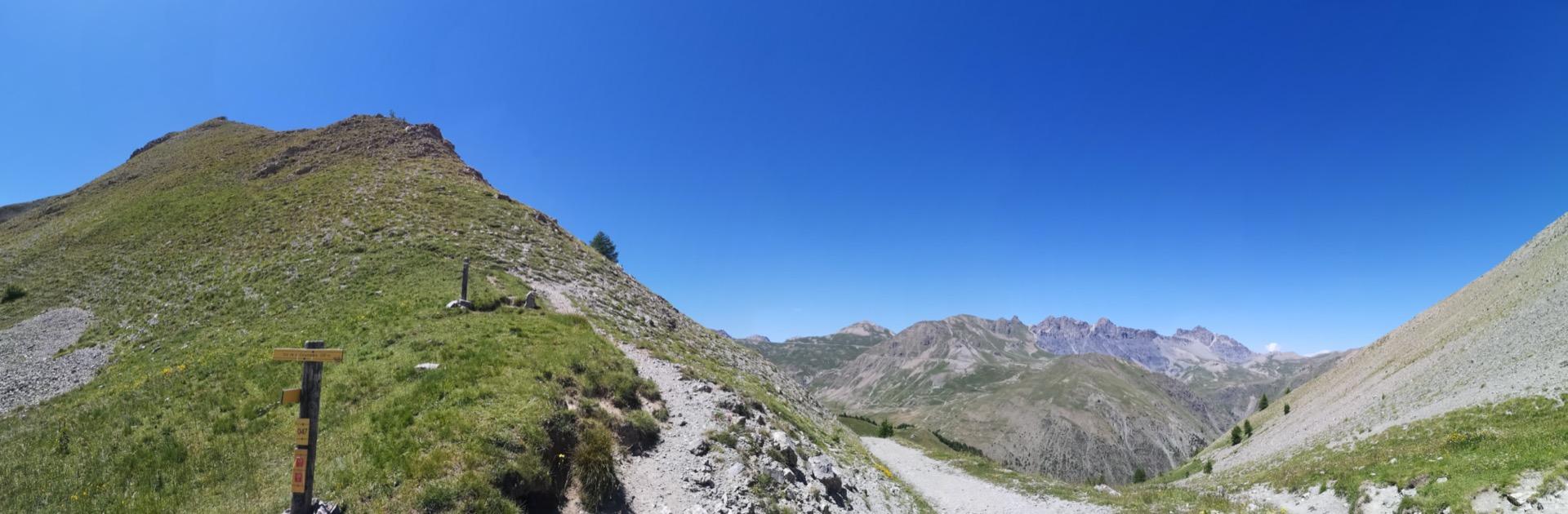 Vue depuis le Col de la Colombière