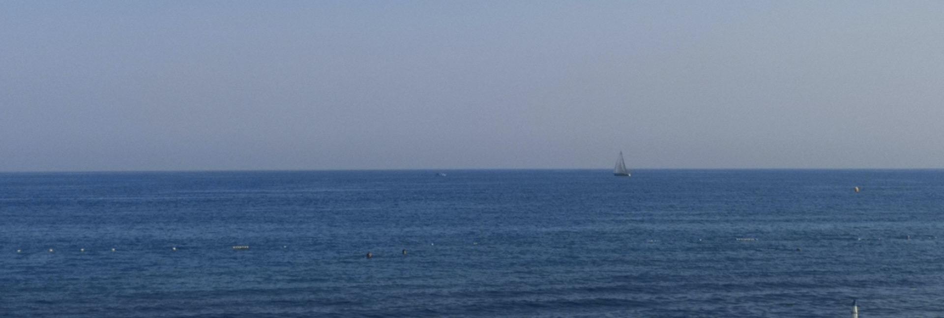 La mer, enfin!
